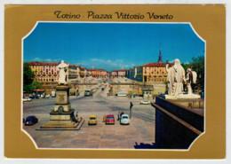 TORINO   PIAZZA  VITTORIO  VENETO               (VIAGGIATA) - Parcs & Jardins