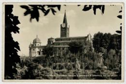 PINEROLO   STORICA  CHIESA  S. MAURIZIO  E MADONNA  DELLE  GRAZIE    (TASSATA)           (VIAGGIATA) - Italia