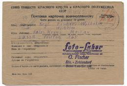 1946 - PRISONNIERS DE GUERRE ALLEMAND En RUSSIE - CARTE De BERLIN => CROIX-ROUGE De MOSCOU - Covers