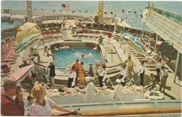 W4386 American Export And Isbrandtsen Lines - SS Indipendance And Constitution - Navi Ships Bateaux / Non Viaggiata - Piroscafi