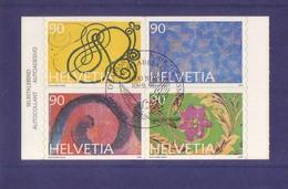 Svizzera 1996 - Occasioni Speciali, Blocco Di 4v Con Annullo FDC - Usati