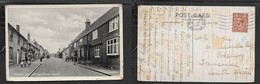 England, Sussex,  Pickerel Hotel & High NStreet, Ixworth, Used 1 1/2d, BURY ST EDMUNDS SUFFOLK 12 SP 1934 > S.Africa - England