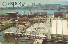 W4387 Canada - Montreal - Expo67 / Viaggiata 1967 - Esposizioni
