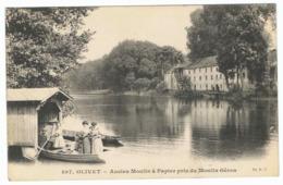 OLIVET Ancien Moulin à Papier Pris Du Moulin Géron - Autres Communes