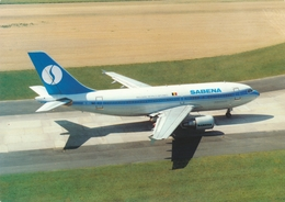 CP - Avion - Vliegtuig - Sabena - Airbus A310-300 - OO-SCC - Autres
