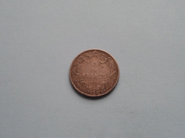 1912 - 2 FRANCS ( Morin 286 ) ( Uncleaned - For Grade, Please See Photo ) ! - 1909-1934: Albert I