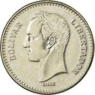 Monnaie, Venezuela, 25 Centimos, 1987, Werdohl, TTB, Nickel, KM:50.2 - Venezuela