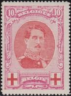 Belgie  .   OBP   .      133       .   *    .   Ongebruikt Met Charnier  .   /  .      Neuf Avec Charniere - 1914-1915 Croix-Rouge