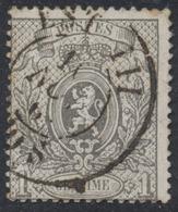 """Petit Lion Dentelé - N°23 Obl Ambulant Double Cercle """"Est III""""  TB - 1866-1867 Petit Lion (Kleiner Löwe)"""