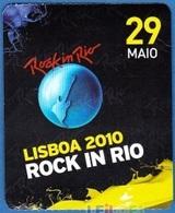 Portugal 2010 - Music Concert/ Festival - ROCK IN RIO, Lisboa - Concert Tickets