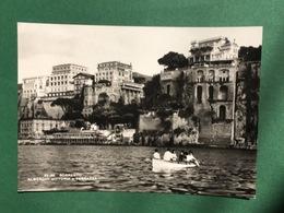 Cartolina Sorrento - Alberghi Vittoria E Terrazza - 1950 - Napoli