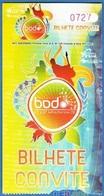 Portugal 2010 - Music Concert/ Festival - FESTAS DO BODO, Tomar 2009 - Concert Tickets