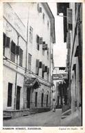 ZANZIBAR - NARROW STREET ~ AN OLD REAL PHOTO POSTCARD #94615 - Tanzania