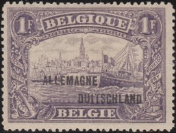 Belgie  .   OBP   .    OC  51      .   *    .   Ongebruikt Met Charnier  .   /  .      Neuf Avec Charniere - [OC38/54] Occ. Belg En All.