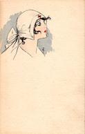 BELLE INFIRMIÈRE De LA CROIX ROUGE / NICE NURSE Of THE RED CROSS - PEINTE À LA MAIN / HAND PAINTED ~ 1915 (ac762) - Croix-Rouge