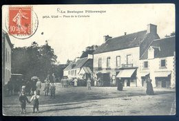Cpa Du 22 Uzel Place De La Cavalerie   LZ9 - Loudéac