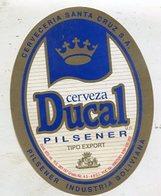 014 Beer Label - Bolivia - Cerveceria Nacional - Bier