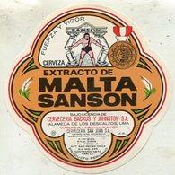 019 Beer Label -  Peru -  Cervezeria Backus Y Johnston S.A. - Bière