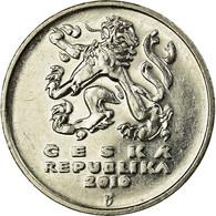 Monnaie, République Tchèque, 5 Korun, 2010, TTB, Nickel Plated Steel, KM:8 - Repubblica Ceca