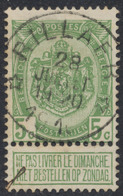"Armoiries - N°83 Obl Relais ""Rillaer"". Superbe - 1893-1907 Armarios"