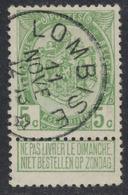 """Armoiries - N°83 Obl Relais """"Lombise"""" - 1893-1907 Armarios"""