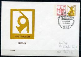 "Germany Berlin 1989 Privatganzsache Postmuseum Berlin Mi.Nr.PU ?? Mit SST""Berlin 30-Postmuseum Berlin ""1GS Used - Correo Postal"