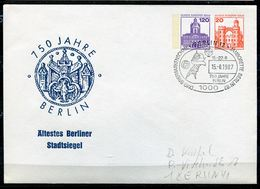 "Germany Berlin 1987 Privatganzsache STADTSIEGEL BERLIN.Nr.PU ?? Mit SST""Berlin 12 Berlin-Jamborette Berlin  ""1GS Used - Sobres"