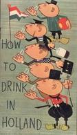 How To Drink In Holland - Brochure Publicitaire - Novembre 1962 - Octobre 1971 - Cuisine, Plats Et Vins