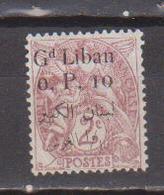 GRAND LIBAN        N°  YVERT  :  22    NEUF AVEC  CHARNIERES      ( Ch  2/02  ) - Great Lebanon (1924-1945)