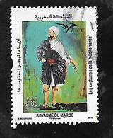 TIMBRE OBLITERE DU MAROC DE 2019 - Marruecos (1956-...)
