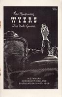H. C. Wyers C.V. Dordrecht - Holland Distillateur Sinds 1826 Dordrecht - Brochure Publicitaire - Cuisine & Vins
