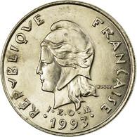 Monnaie, French Polynesia, 10 Francs, 1993, Paris, TB+, Nickel, KM:8 - Polynésie Française