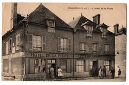 OUARVILLE HOTEL DE LA POSTE TRES ANIMEE - France