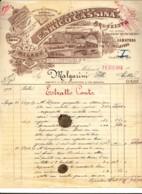 VD 157 - ESTRATTO CONTO ENRICO CASSINA - MILANO - 1913 - Italia