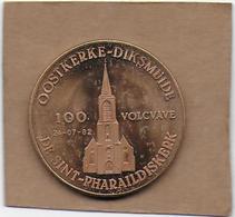 100 VOLCAVE 1982 OOSTKERKE-DIKSMUIDE - Gemeentepenningen