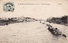 Conflans Ste Honorine Vue Panoramique CPA - Conflans Saint Honorine