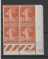 Bloc Coin Daté - Neuf ** - MNH - 1930-1939