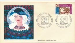 FRANCE-REUNION - Enveloppe Thiaude FDC - Exposition Philatélique Internationale ARPHILA - 20/1/1974 - Covers & Documents