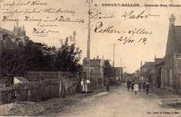 AK Esmery-Hallon - Grande-Rue (Haut) Bei Ham, Hombleux,  Hauts De France   - Rare  ! -    - Selten !!! - Other Municipalities
