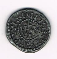 //  PENNING  COLLECTION - BP - 6 HUGUES CAPET 987 - 996  DENIER - Pièces écrasées (Elongated Coins)