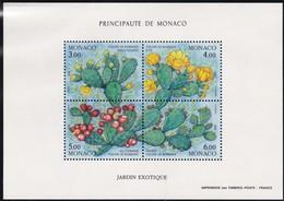 1992, Monaco, 2054/57 Block 53, Die Vier Jahreszeiten (X); Exotischer Garten Von Monaco. MNH ** - Blocs
