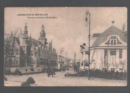 Brussel / Bruxelles - Exposition De Bruxelles  - Vue Sur Le Pavillon Néerlandais - 1910 - Expositions Universelles