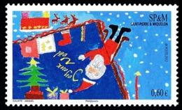 ST-PIERRE ET MIQUELON 2012 - Yv. 1057 **  - Père Noël, Sapin, Cadeaux  ..Réf.SPM11642 - St.Pierre & Miquelon