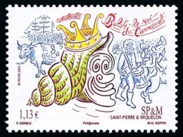 ST-PIERRE ET MIQUELON 2013 - Yv. 1060 **  - Bulot, Roi Du Carnaval  ..Réf.SPM11645 - St.Pierre & Miquelon