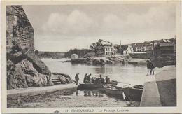 CPA - CONCARNEAU - LE PASSAGE LANRIEC - N°17 - ANIMEE - Concarneau