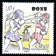 ST-PIERRE ET MIQUELON 2012 - Yv. 1050 **  - Sport. Boxe  ..Réf.SPM11632 - St.Pierre & Miquelon