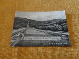 CARTOLINA CASERTA-PARCO REALE-LA GRANDE CASCATA-VIAGG.1962 - Caserta