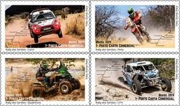 Brazil 2019: Rally (Sertões International Rally), Cars, Motorcycle, Race. MNH - Automobile