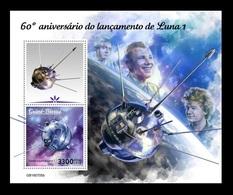 Guinea-Bissau 2019 Mih. 10833 (Bl.1861) Space. Launching Of Luna 1. Korolev. Gagarin. Tereshkova MNH ** - Guinea-Bissau