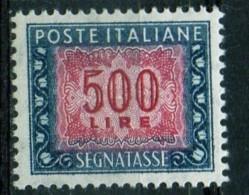 PIA - ITA - Specializzazione : 1977 :  Segnatasse  £ 500 - (SAS 120IV  - CAR 50 ) - 1946-.. Republiek
